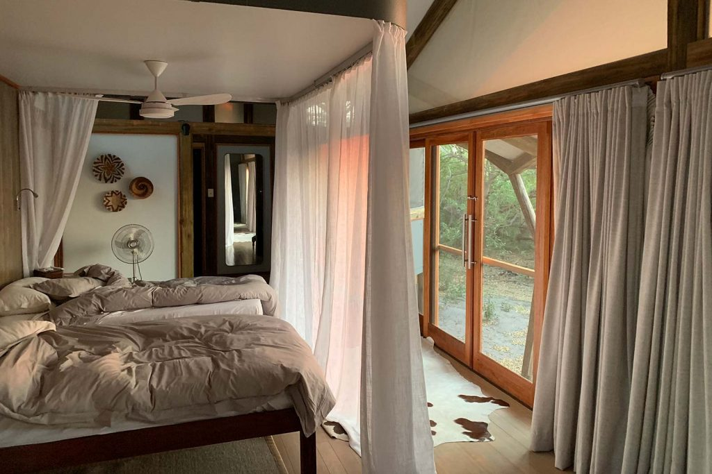 Accommodation at Kwando Splash in Botswana, Africa. Cheetah, cubs & the most incredible dinner setting