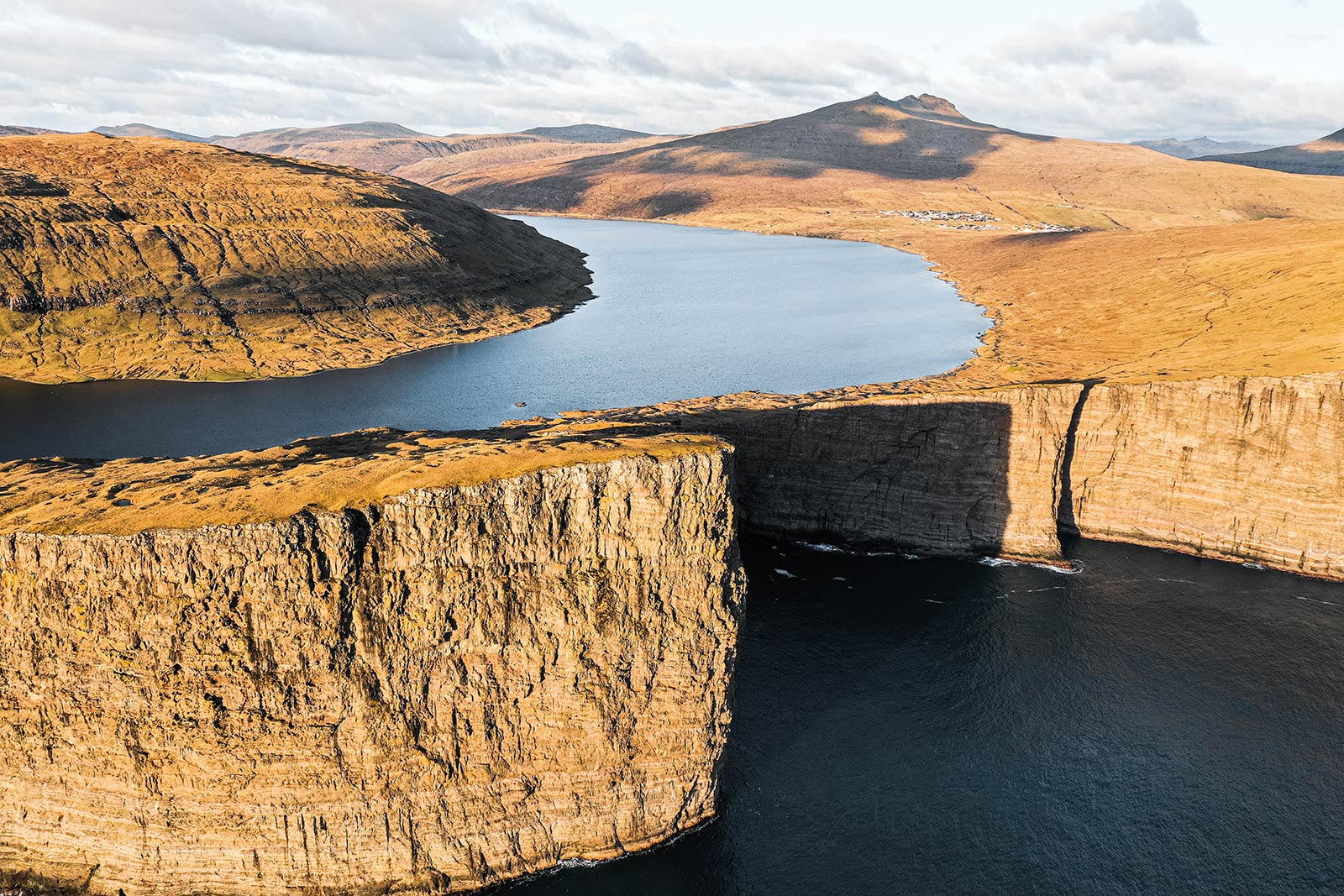 Vagar Islands in Faroe Islands. The Faroe Islands has me