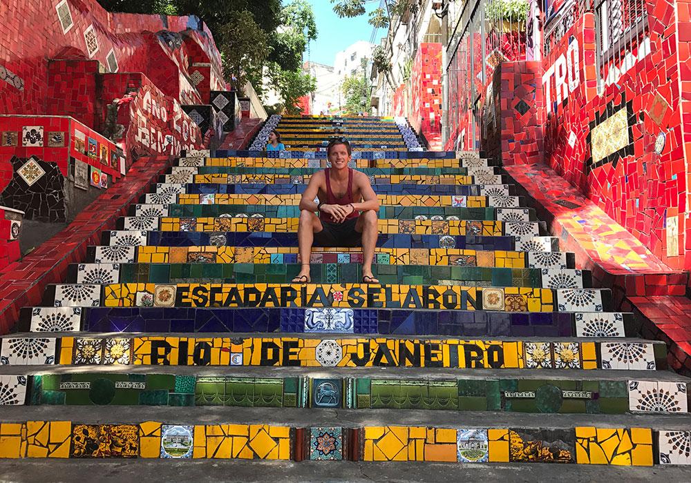 BLOG ENTRIES, RIO STEPS