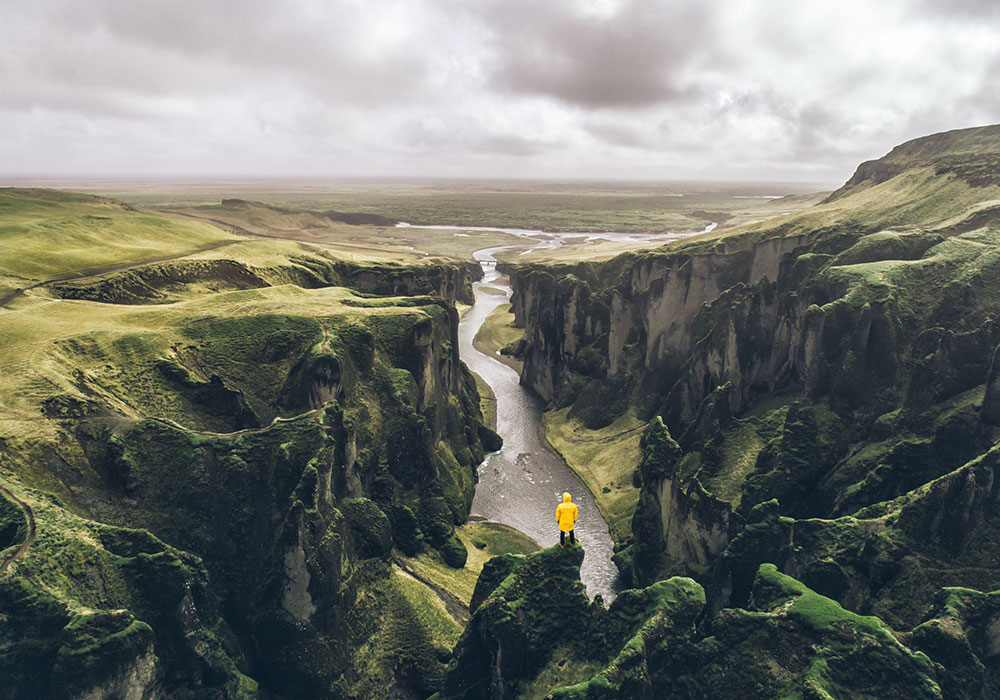 TRAVEL GUIDES & ITINERARIES, ICELAND CANYON