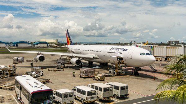 Philippines plane at airport