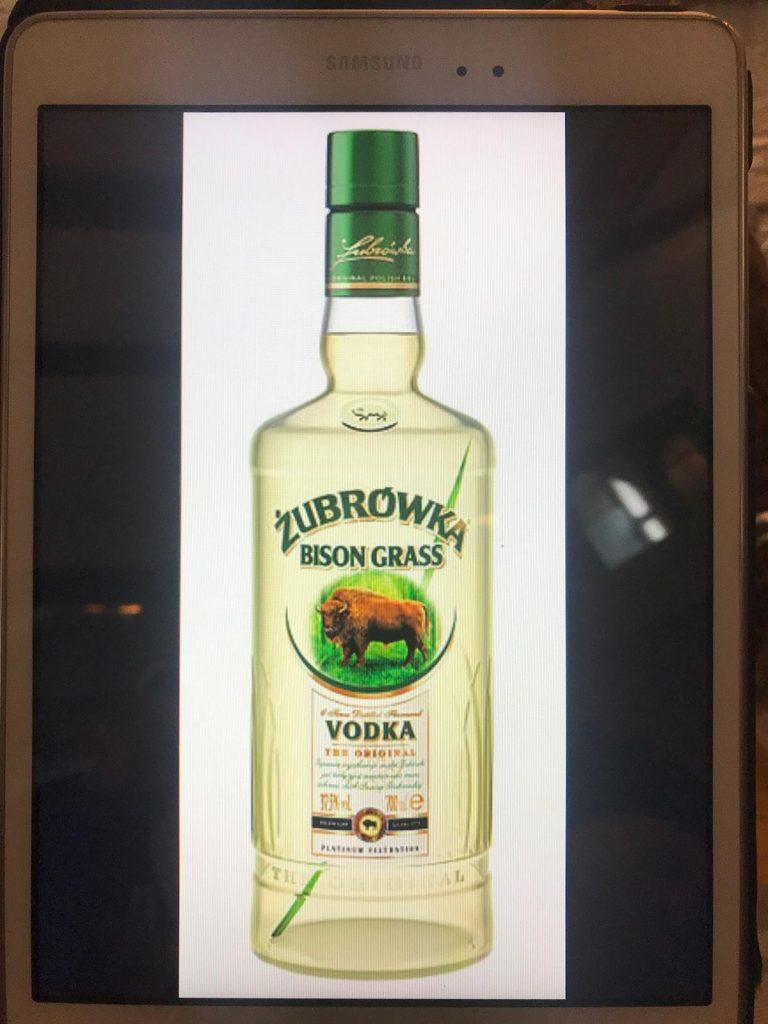 Local vodka in Krakow, Poland. Cold walks and Polish food in Krakow